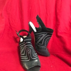 Vince Camuto - Black with silver embellishments!